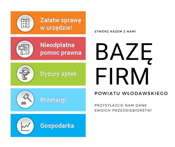 Baza firm - informacja