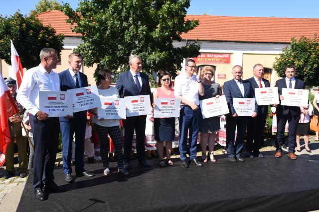 Premier Morawiecki we Włodawie