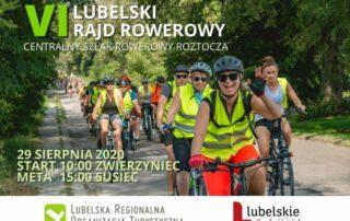 Zaproszenie VI Lubelski rajd rowerowy
